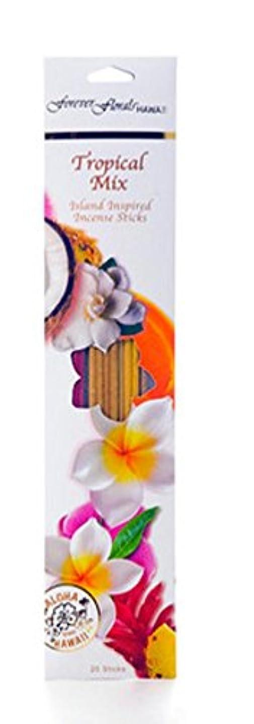 委任する悪化する小包ハワイアンForever Florals Incense Sticks Assortedパック 8 Packs