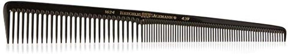 勇敢なバブル会話Hercules S?gemann Tapered Barber Comb for 1/20 mm cut with wide and extra fine teeth 7 1/2