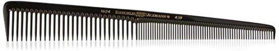 ネクタイ道徳教育最大限Hercules S?gemann Tapered Barber Comb for 1/20 mm cut with wide and extra fine teeth 7 1/2