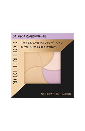 コフレドール コフレドール COFFRET D'OR ネオコートファンデーション 本体 01 明るく透明感のある肌 9G 無香料の画像
