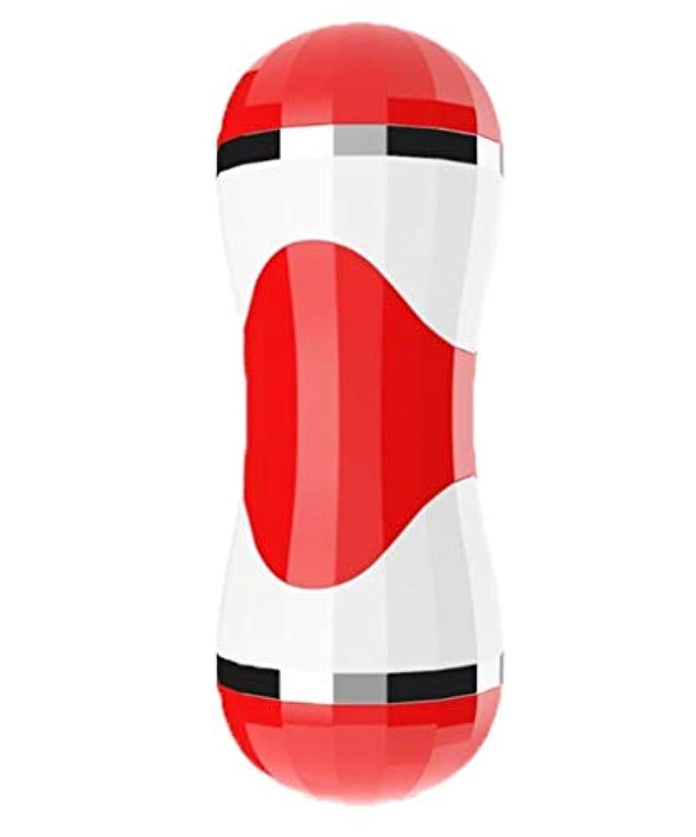 故意の輸血本を読む大人に適して コードレスワンドマッサージャー究極のオールオーバーボディマッサージどこでも、治療、防水、ハンドヘルドポータブルマッサージ。 セクシー (Color : Red Manual)