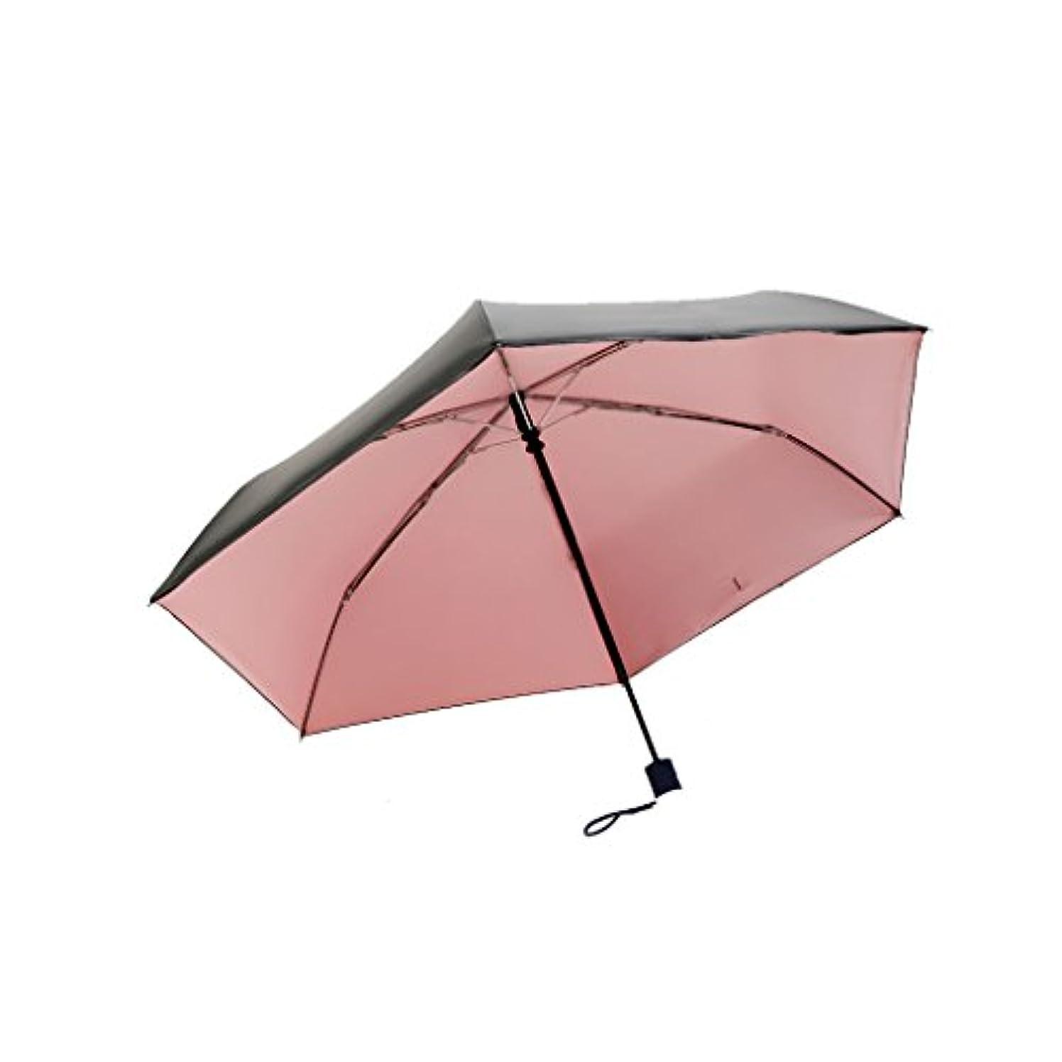 組み立てる咲く滅びる旅行用傘 折りたたみ傘 - パラソルUV保護日陰オープン強雨傘速乾性防風コンパクト旅行傘テフロンコーティング - 自動開閉ボタン UVカット