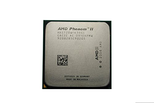 AMD Phenom II x3 720 2.8 GHz CPUプロセッサーソケットam2 + am3 938-pin