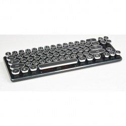タイプライター風キーボード USB接続 Kailh社製「茶軸」 KFK51N...