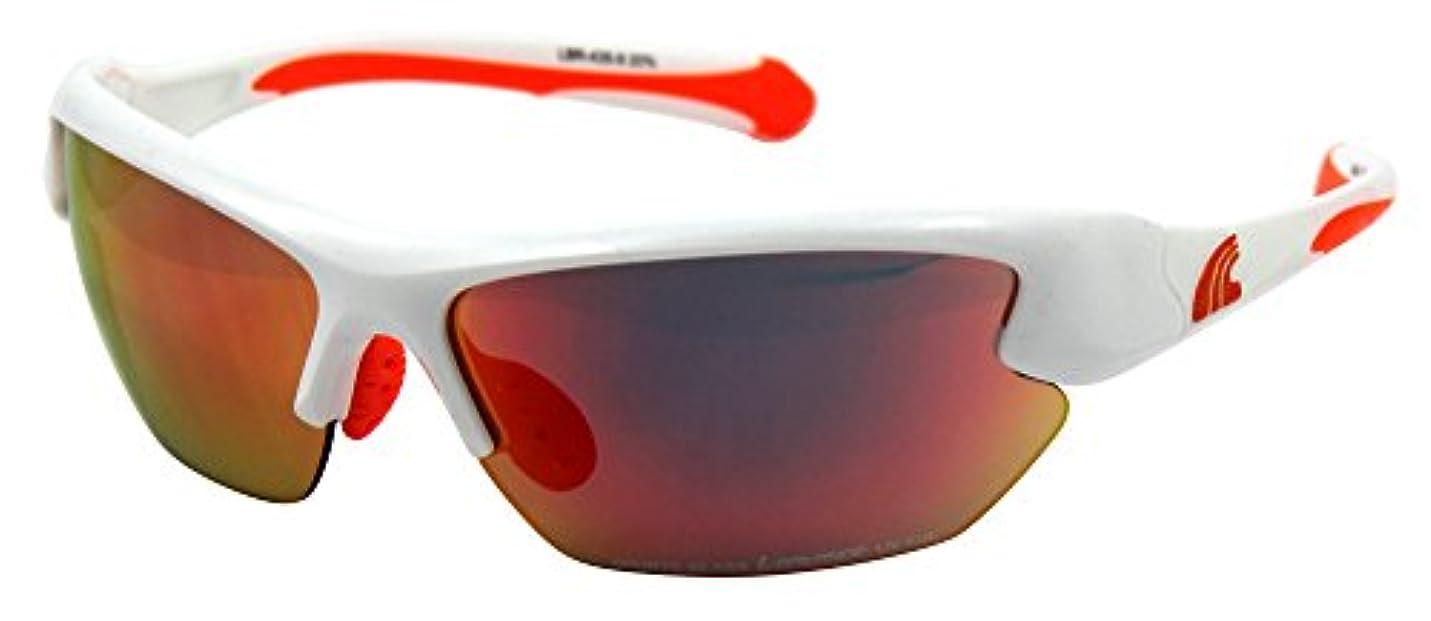 生産的ペルー健康L-BALANCE EYES(エルバランス?アイズ) 交換レンズ付き スポーツサングラス 全3色 LBR-435