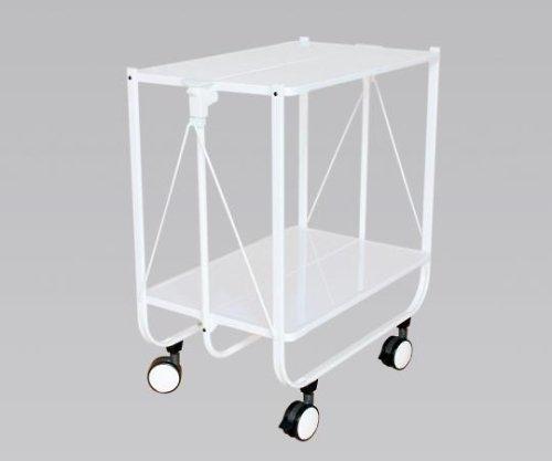 伸和 ハンディサイドカート(折りたたみ式) 網棚なし 690×400×730 62073 ホワイトR 1式 8-4764-12