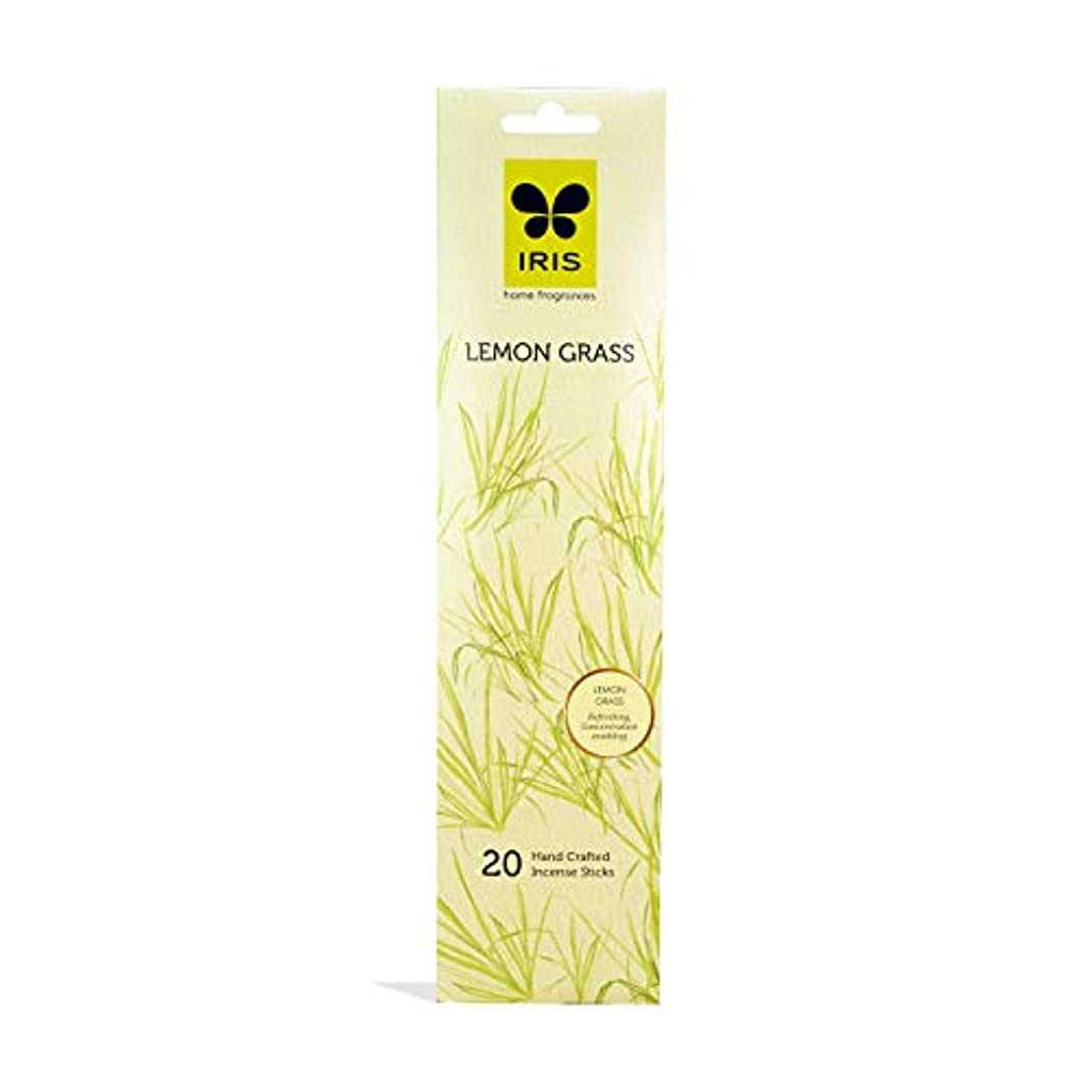 野心的吹きさらし同種のIRIS Signature Lemon Grass Fragrance Incense Sticks