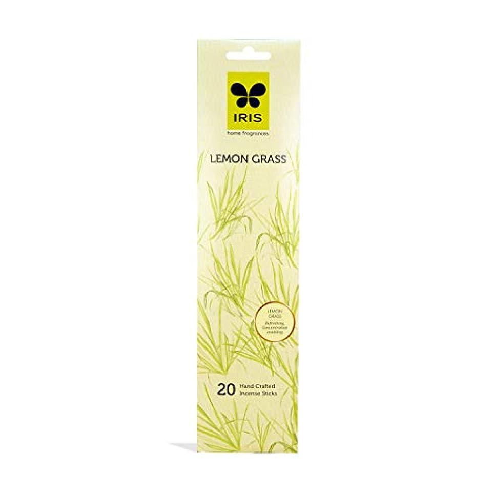 正確特性するだろうIRIS Signature Lemon Grass Fragrance Incense Sticks