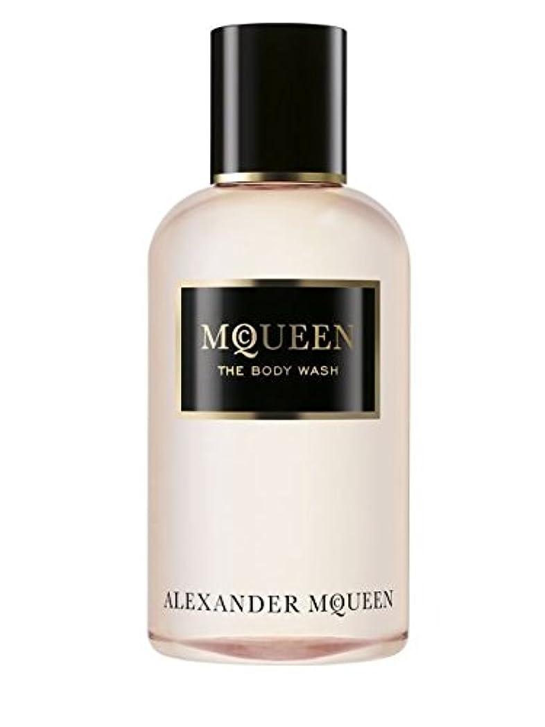 側溝ドライラバMcQueen (マクイーン) 8.4 oz (250ml) Body Wash by Alexander McQueen for Women