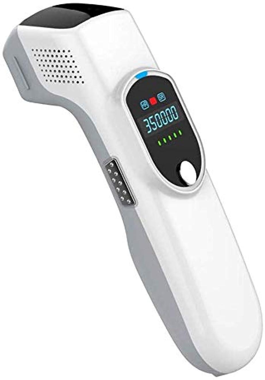 州貢献する死んでいるHSBAIS 女性と男性のための脱毛システム、常設 無痛 レーザー脱毛器 35000回の点滅ビキニライン/足/腕/脇の下,White