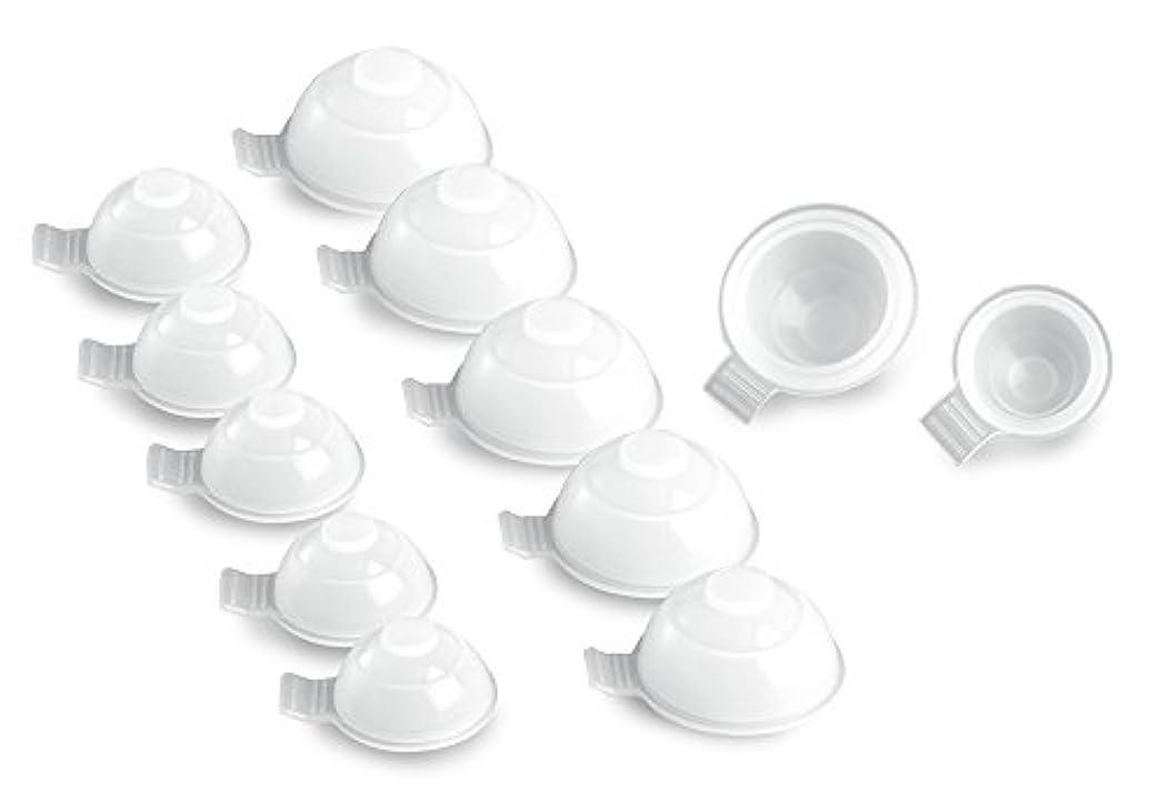 神ニュージーランドハウジングらくらく吸玉健康法 きゅーいんまる 12個セット(大×6?中×6)