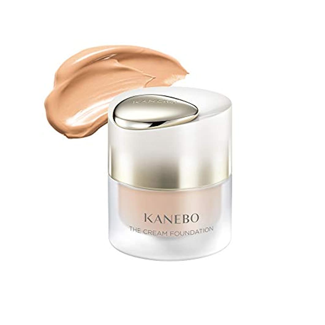 盗賊導入するしなやかKANEBO(カネボウ) カネボウ ザ クリームファンデーション オークルB エタニティブーケの香り 30ML