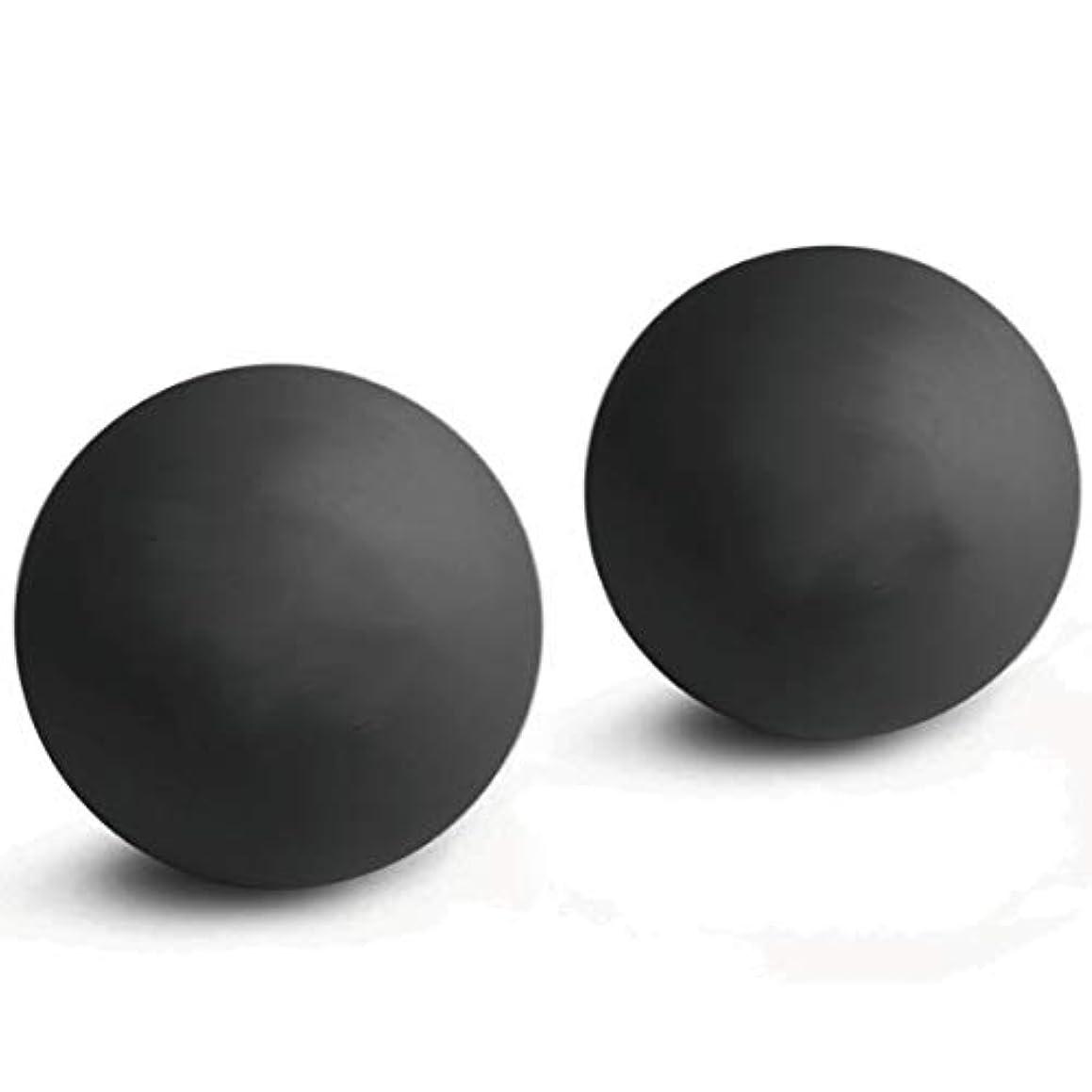 付与独裁者変形する2個入マッサージボール 触覚ボール ストレッチボールトリガーポイント 肩 背中 腰 足裏 全身 ツボ押しグッズ