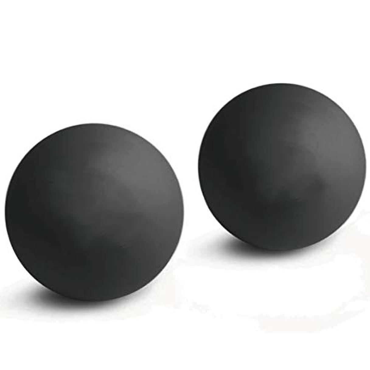 暗黙建物着陸2個入マッサージボール 触覚ボール ストレッチボールトリガーポイント 肩 背中 腰 足裏 全身 ツボ押しグッズ