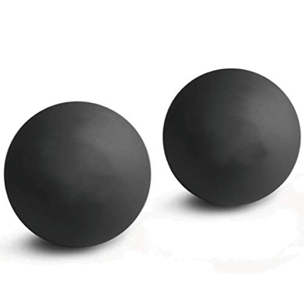 オーディション名目上のマイクロ2個入マッサージボール 触覚ボール ストレッチボールトリガーポイント 肩 背中 腰 足裏 全身 ツボ押しグッズ