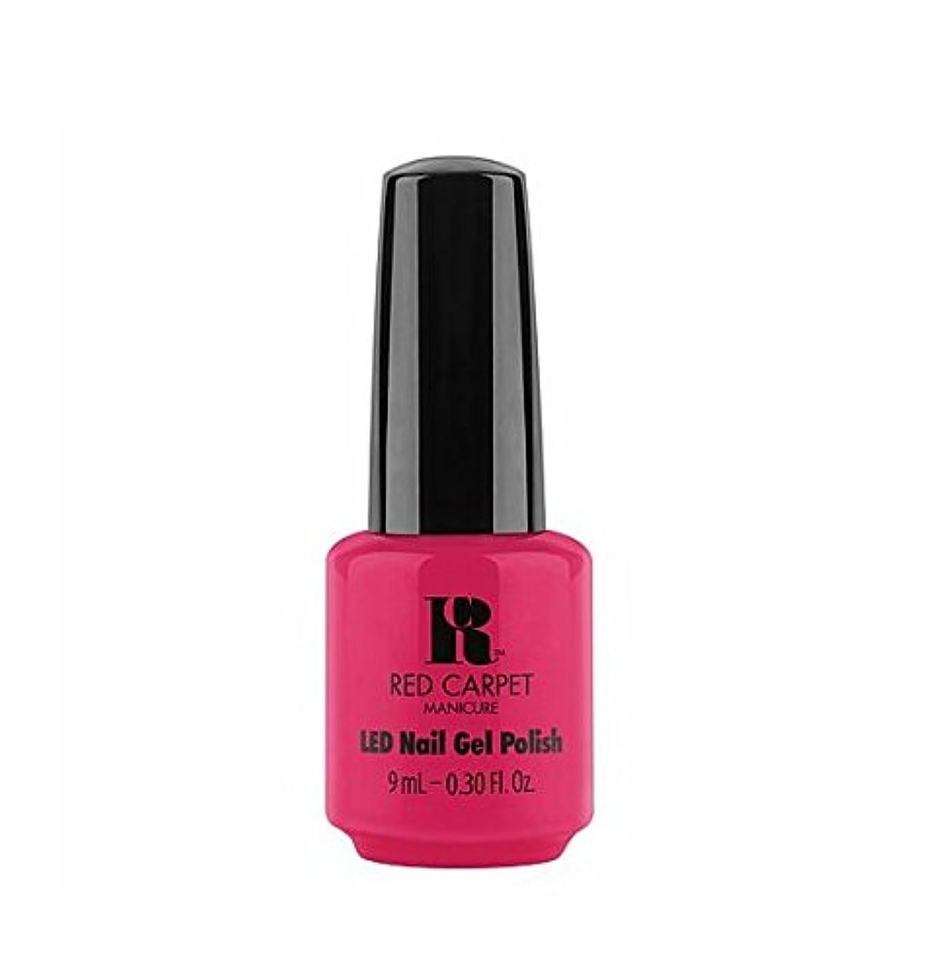 タフ汚染された納屋Red Carpet Manicure LED Gel Polish - Shot Caller - 9 ml/0.30 oz