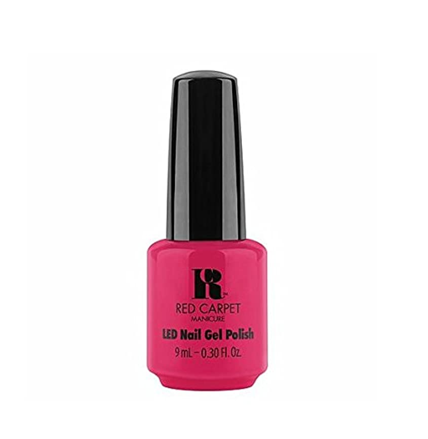 価値のない歩くラベRed Carpet Manicure LED Gel Polish - Shot Caller - 9 ml/0.30 oz