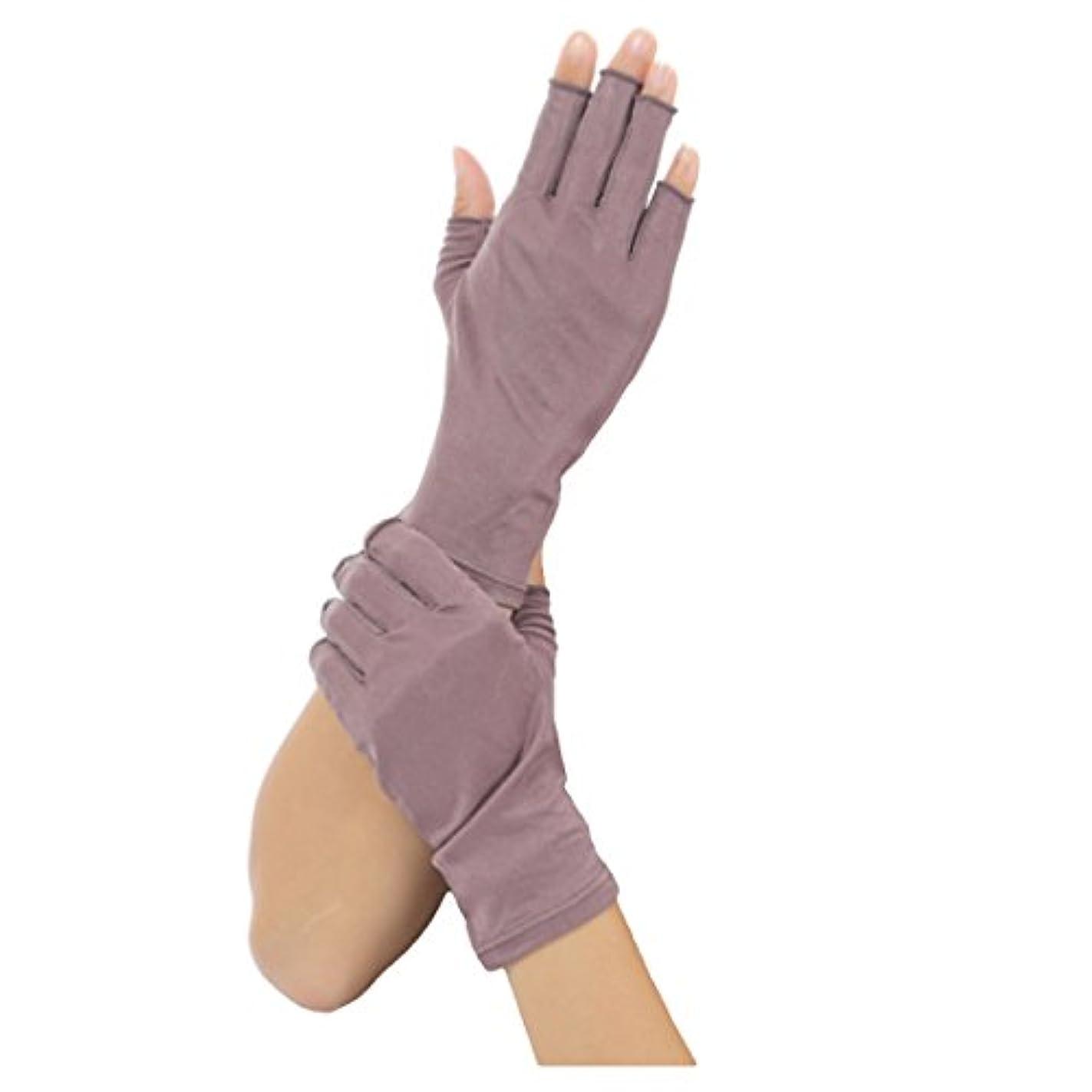 料理予測する飲料Silk 100% シルク 手袋 指先カット タイプ 薄手 オールシーズンOK 外出時の 紫外線 UV 対策 スマホ PC 操作 や ICカード 取り出しもらくらく! 手首 ゆったり おやすみ フィンガーレス スキンケア...