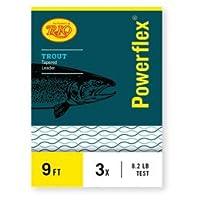 Rio Powerflex Trout Leaders、9足、3パック
