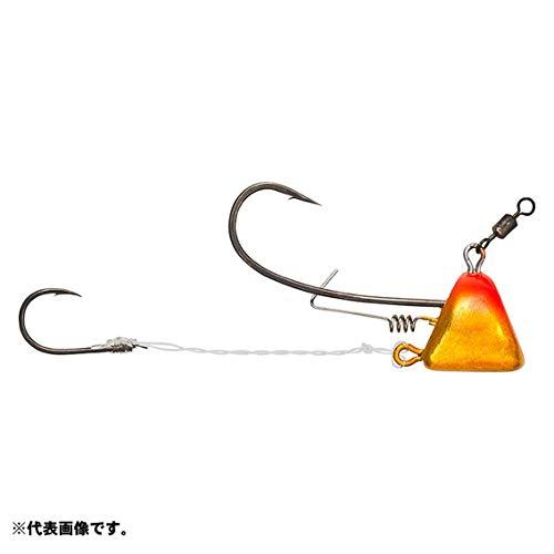 ダイワ(DAIWA) テンヤ 紅牙 タイカブラSS+エビロック ケイムラ オレンジ/金 8号