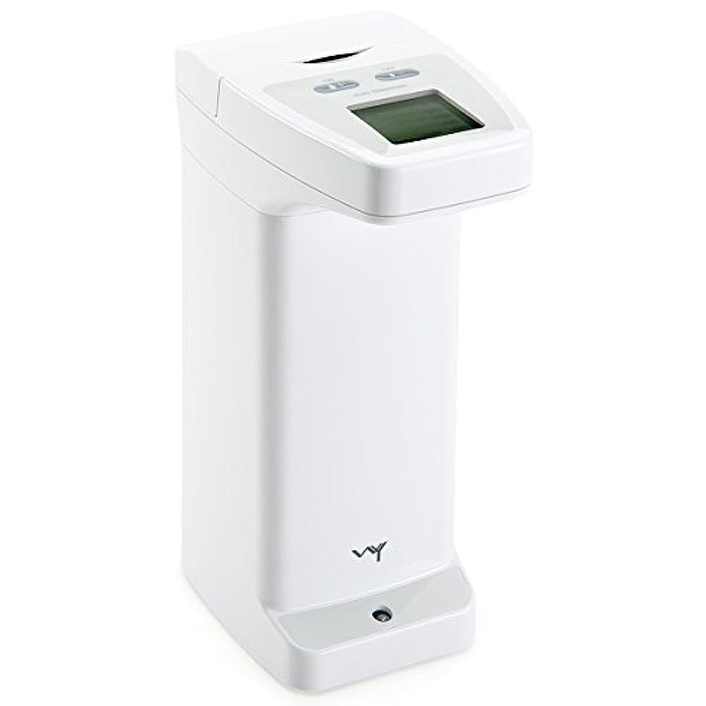 かるフェデレーション辞任するWY 自動センサーディスペンサー 洗剤 ハンドソープ アルコール用 ソープディスペンサー 防滴 液晶付き WY-HM012