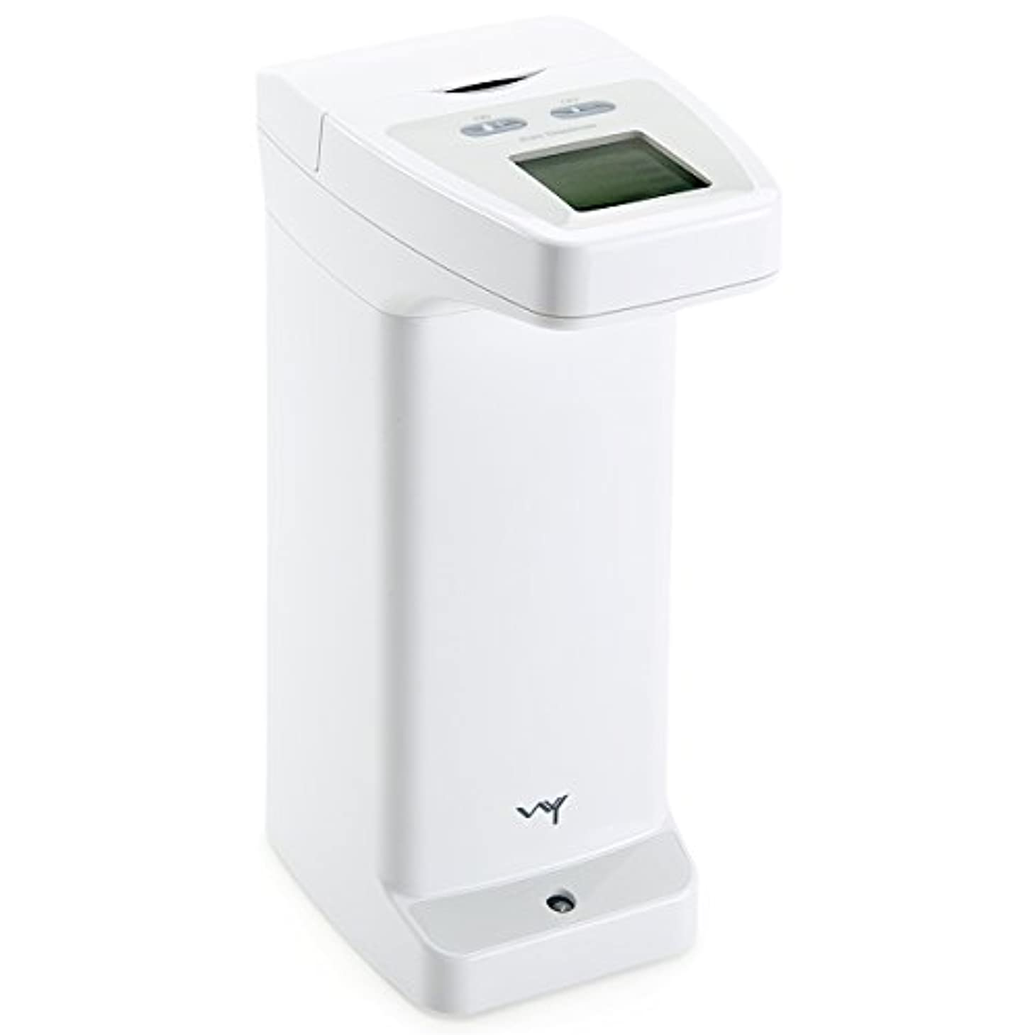 階下回転させるクリップWY 自動センサーディスペンサー 洗剤 ハンドソープ アルコール用 ソープディスペンサー 防滴 液晶付き WY-HM012