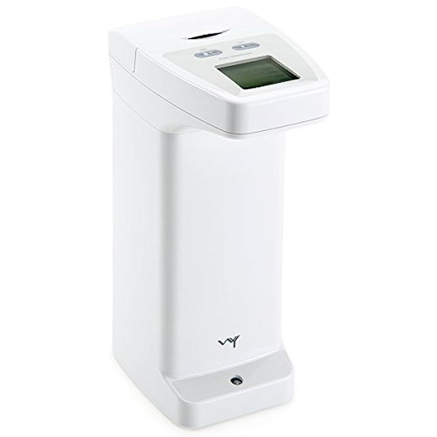 フリル高音コンパスWY 自動センサーディスペンサー 洗剤 ハンドソープ アルコール用 ソープディスペンサー 防滴 液晶付き WY-HM012