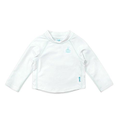 アイプレイ iplay ラッシュガード 長袖 UPF50+ UVカット ベビー キッズ 水着 XL:24ヶ月 ホワイト