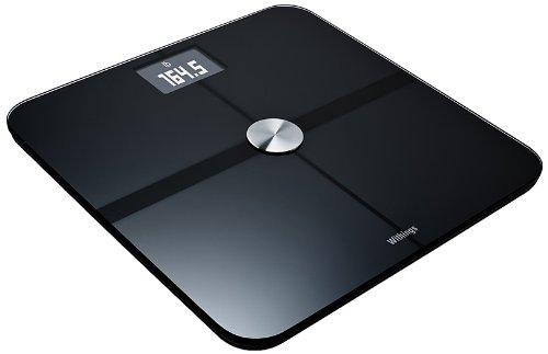 RoomClip商品情報 - Withings Smart Body Analyzer ネットワーク対応 体重計 ( Bluetooth Wi-Fi 機能 / 超薄型 / BMI 体脂肪 心拍数 測定可 / ブラック ) WS-50