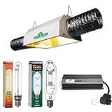 植物育成ライト Xtrasun600Wセット(Dayster AC Reflector)3段階調光、タイマー付き安定器