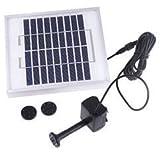 [Present-web] 太陽能を電力に高効率変換 ソーラーファン池ポンプ 【充電】