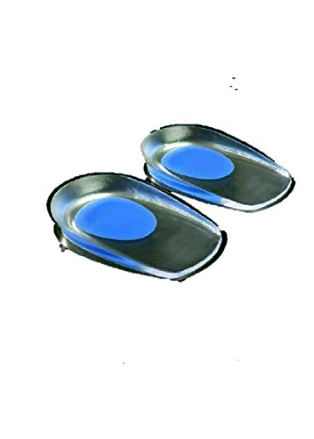 ぬいぐるみ重要な役割を果たす、中心的な手段となるシャーヒールペインインソール女性メンズ痛みスーパーソフトシリコンヒールパッドヒール痛みリリーフロングステーションペインヒールパッド