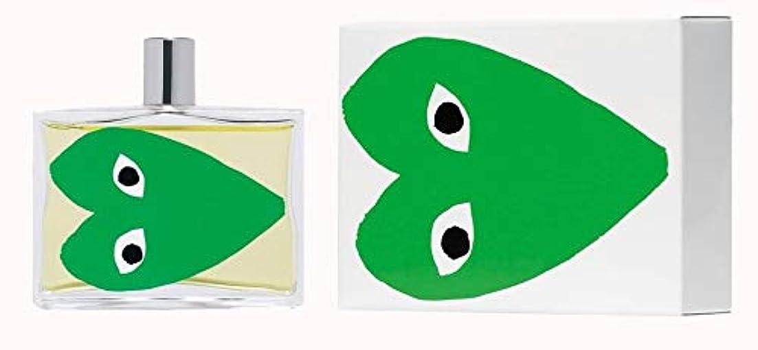 まぶしさインタビュー伝染性Comme des Garcons Play Green Eau De Toilette 3.4 oz / 100 ml New In Box.