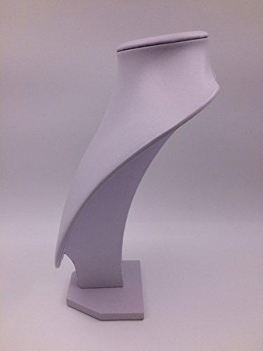ネックレススタンド アクセサリー収納 ディスプレイスタンド 展示会 撮影 白 インテリア雑貨 見せる収納 店舗用品