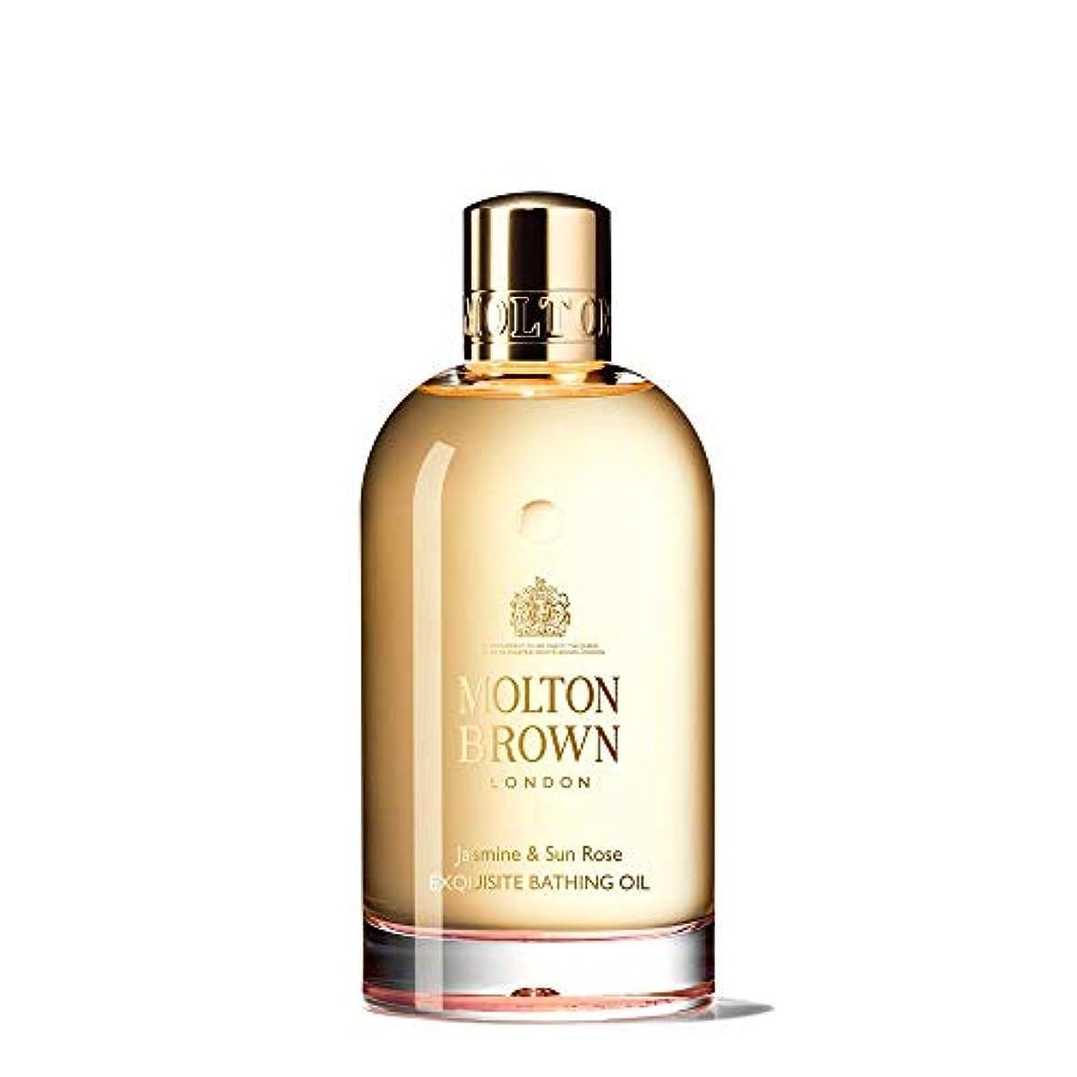世界的にサーキットに行く雑草MOLTON BROWN(モルトンブラウン) ジャスミン&サンローズ コレクション J&SR ベージングオイル
