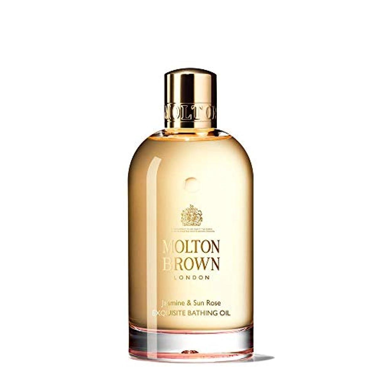 アサーきらきらせせらぎMOLTON BROWN(モルトンブラウン) ジャスミン&サンローズ コレクション J&SR ベージングオイル 入浴剤 200ml