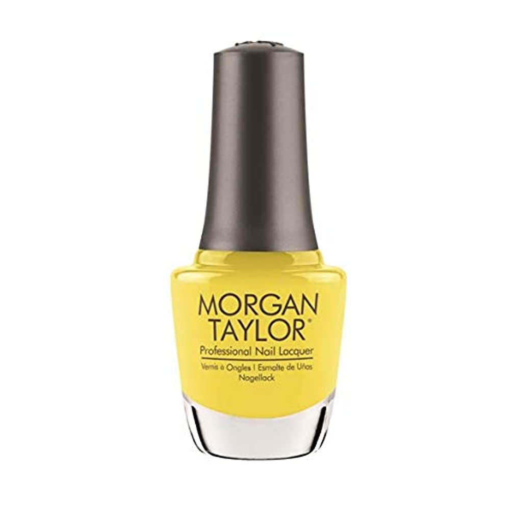 広範囲に番目スモッグMorgan Taylor Nail Lacquer - Rocketman Collection - Glow Like A Star - 15ml / 0.5oz
