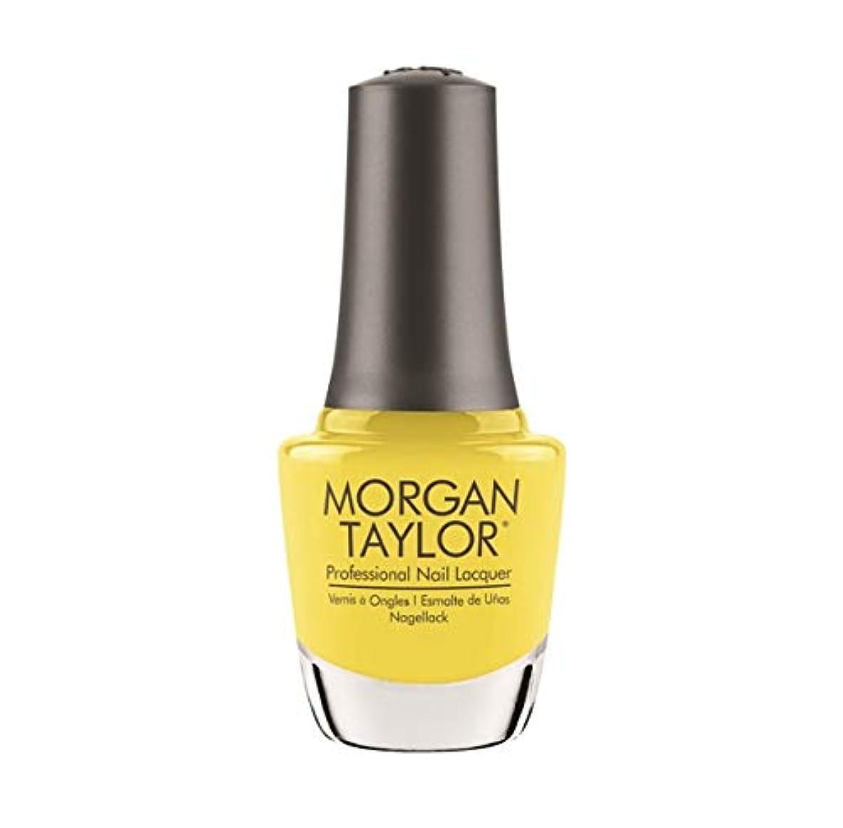 ペチュランス貼り直す自由Morgan Taylor Nail Lacquer - Rocketman Collection - Glow Like A Star - 15ml / 0.5oz