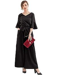 44431e754d6d0 ECUSSY(エクス) 結婚式 ドレス パンツドレス セットアップ レディース フォーマル パンツスーツ お呼ばれ 二次会