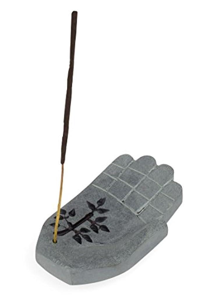 ブリーク基礎理論統計香炉に' Peace Hand Incense Holder '