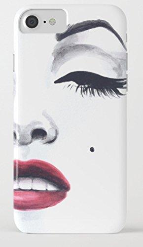 マリリン・モンロー iPhone 8/8plus Xケース society6 [並行輸入品] (iPhone 8, marilyn01)