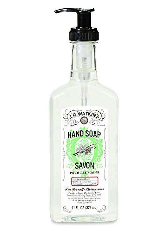 J.R.Watkins/ハンドソープ バニラミント 325ml リラックス 石鹸 植物由来 保湿 甘い香り