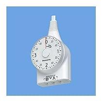 パナソニック(Panasonic) WH3211WP ダイヤルタイマー(3時間形)(1m)(ホワイト)