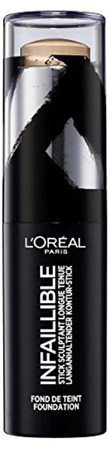 ハチ合法ホスト(200 Honey) - L'Oreal Paris Infallible Shaping Stick Foundation 200 Honey 9g