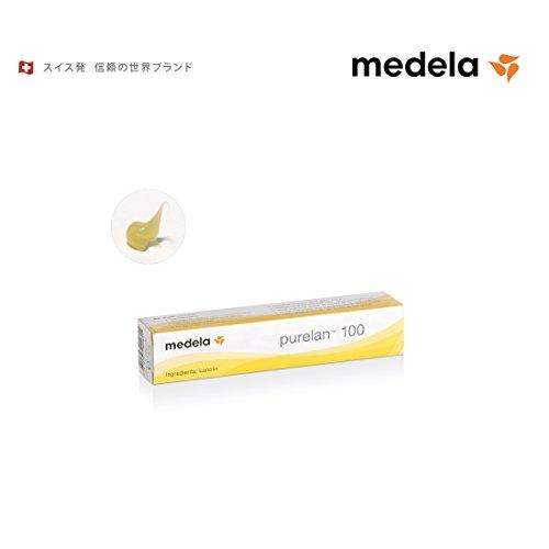 Medela メデラ 乳頭保護クリーム ピュアレーン100 7g 天然ラノリン 100% (008.0395)