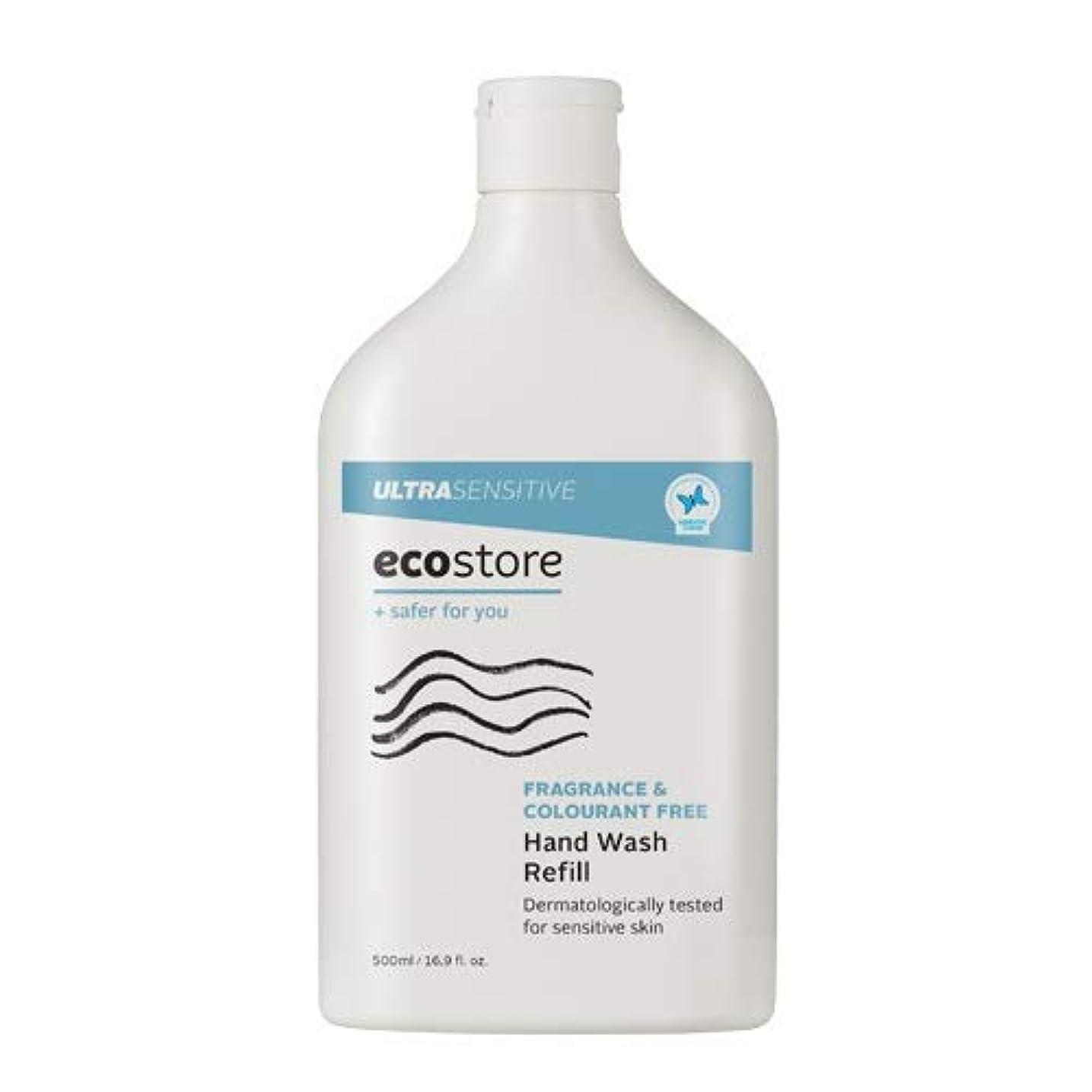 牽引広告主無条件ecostore(エコストア) ハンドウォッシュ 【無香料】 500ml 詰め替え用 液体タイプ