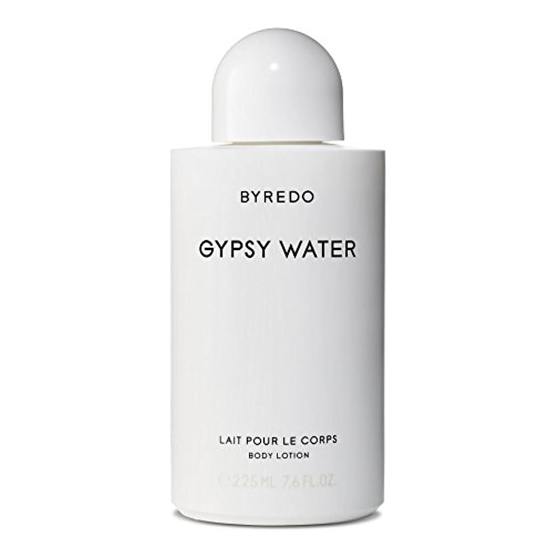 真夜中サイバースペース証言するByredo Gypsy Water Body Lotion 225ml - ジプシー水ボディローション225ミリリットル [並行輸入品]