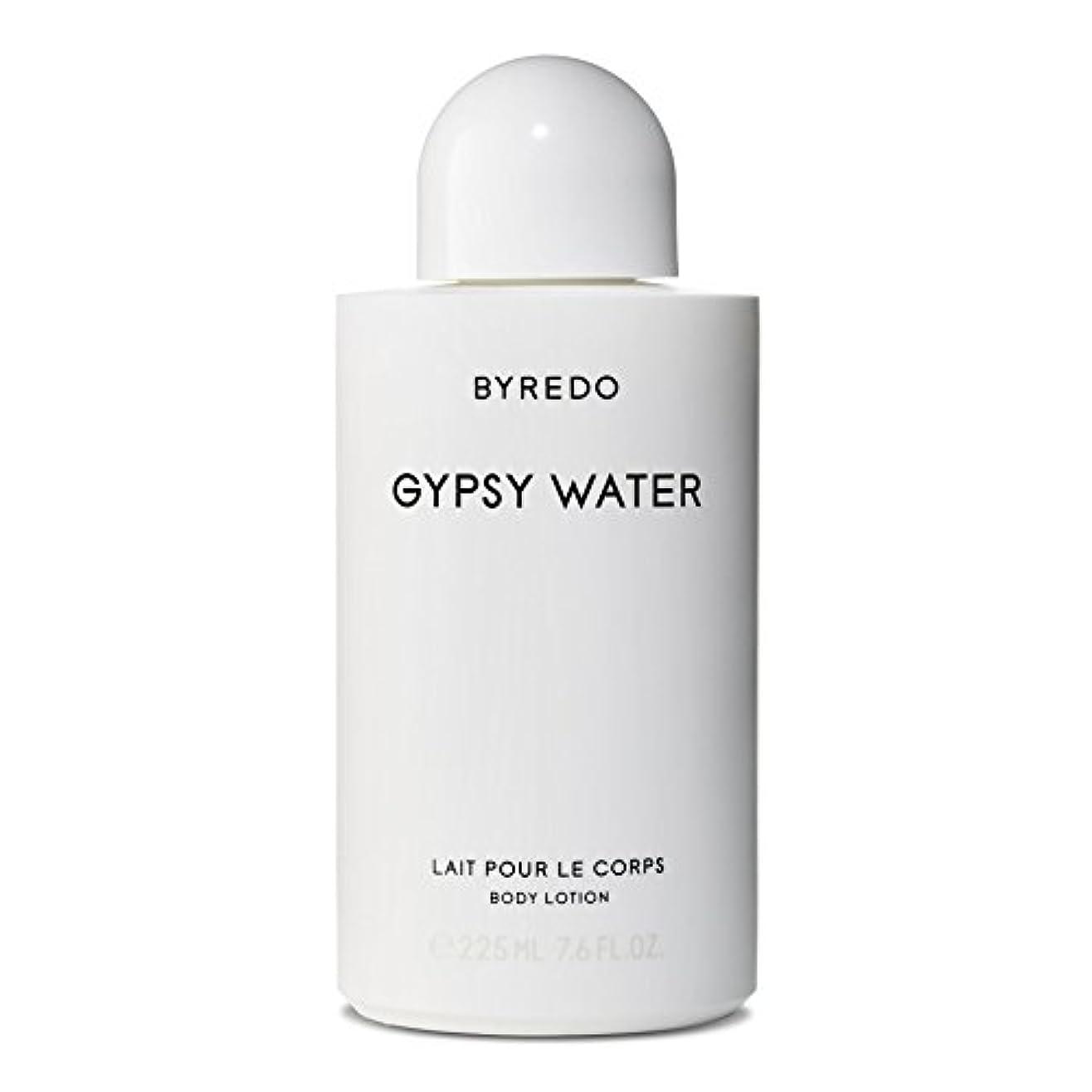 圧縮された誤解寛大なByredo Gypsy Water Body Lotion 225ml - ジプシー水ボディローション225ミリリットル [並行輸入品]