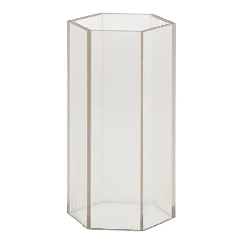 ノーブランド品 DIY キャンドルを作る 六角形 キャンドル金型 石鹸金型 全2サイズ選ぶ - 5x10.2cm