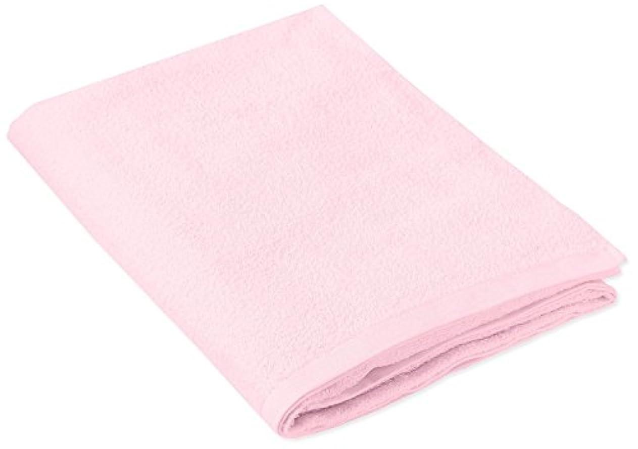 しがみつくジュニア南極キヨタ 抗菌介護タオル(大判タオル1枚入) ピンク 80×135cm